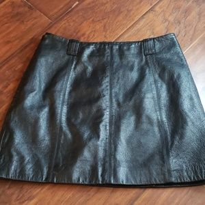 Leather Skirt Wilson's Size 8
